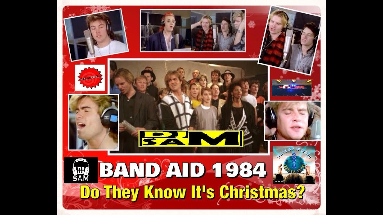 They Know It's Christmas Band Aid 1984